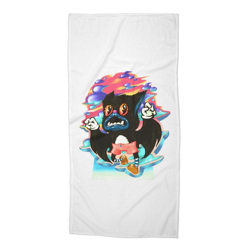 BatBoy sky Accessories Beach Towel by villainmazk's Artist Shop