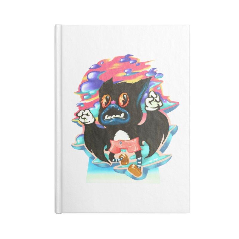 BatBoy sky Accessories Lined Journal Notebook by villainmazk's Artist Shop