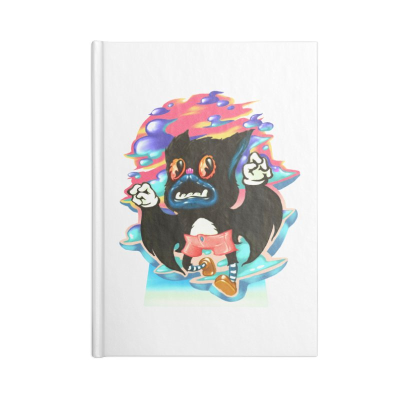 BatBoy sky Accessories Blank Journal Notebook by villainmazk's Artist Shop