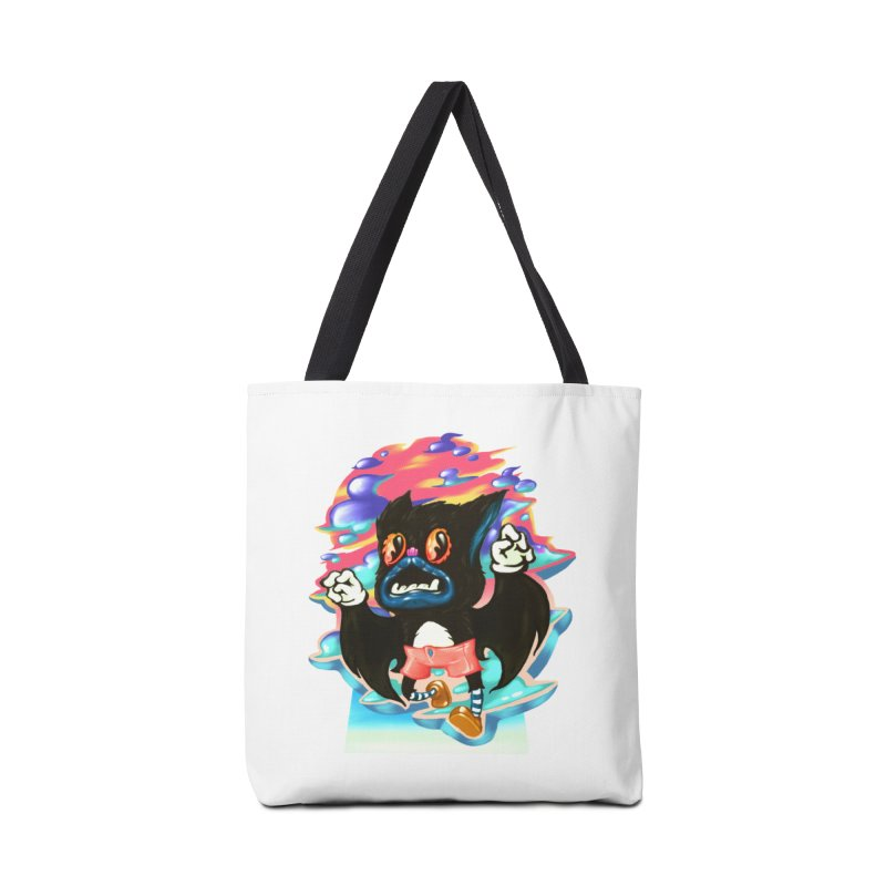 BatBoy sky Accessories Tote Bag Bag by villainmazk's Artist Shop