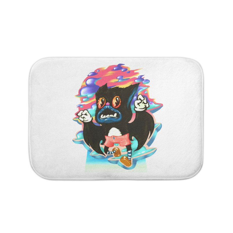 BatBoy sky Home Bath Mat by villainmazk's Artist Shop