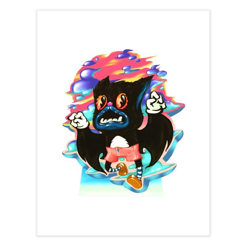BatBoy sky Home Fine Art Print by villainmazk's Artist Shop