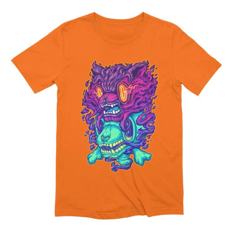 The Ghost cat Men's Extra Soft T-Shirt by villainmazk's Artist Shop