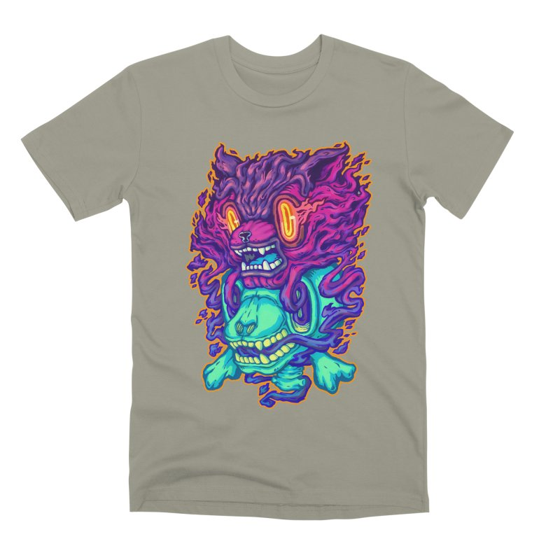 The Ghost cat Men's T-Shirt by villainmazk's Artist Shop