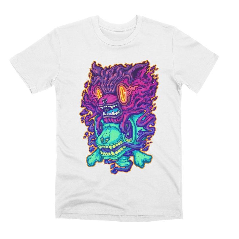 The Ghost cat Men's Premium T-Shirt by villainmazk's Artist Shop