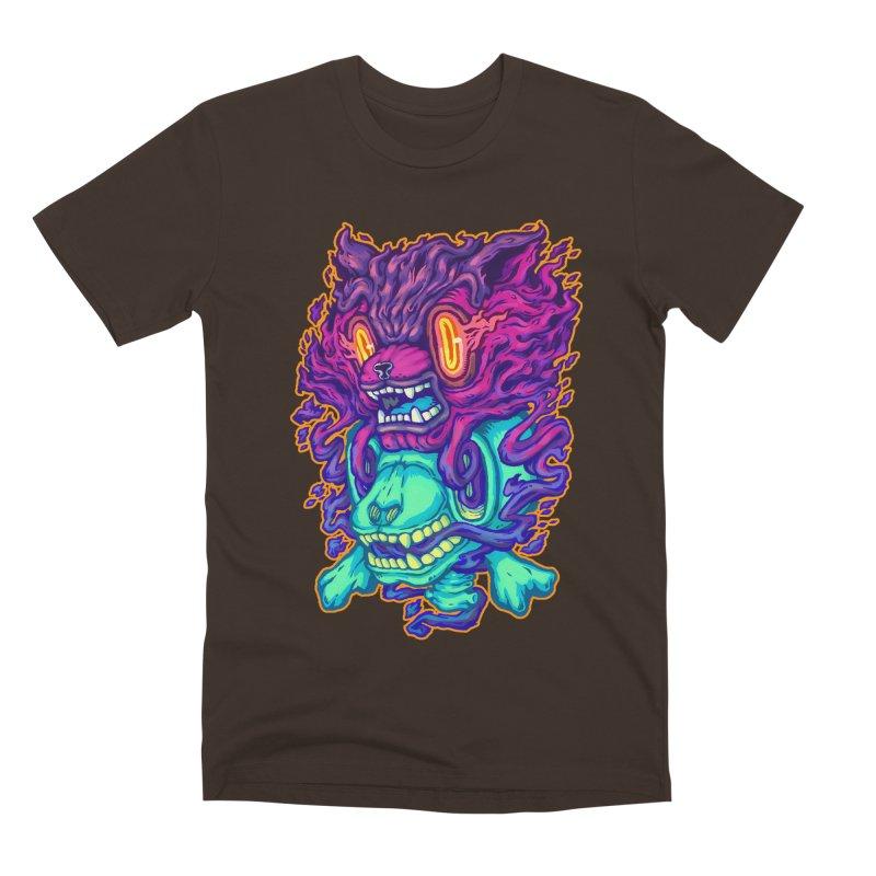 The Ghost cat Men's T-Shirt by villainmazk's Artist Shop