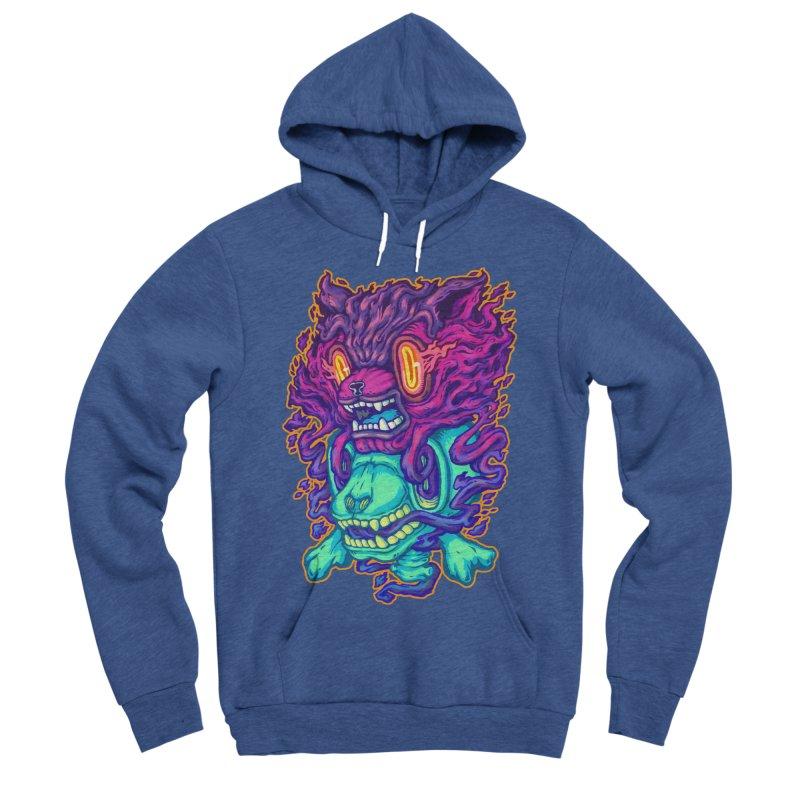 The Ghost cat Women's Sponge Fleece Pullover Hoody by villainmazk's Artist Shop