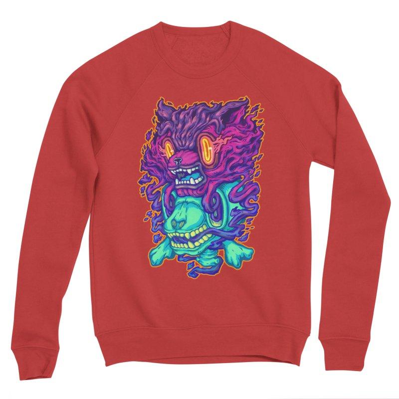 The Ghost cat Men's Sponge Fleece Sweatshirt by villainmazk's Artist Shop