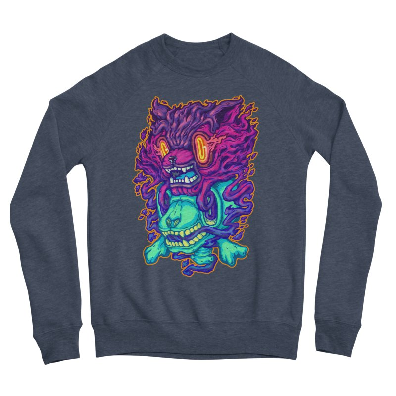 The Ghost cat Men's Sponge Fleece Sweatshirt by villainmazk's Artist Shop