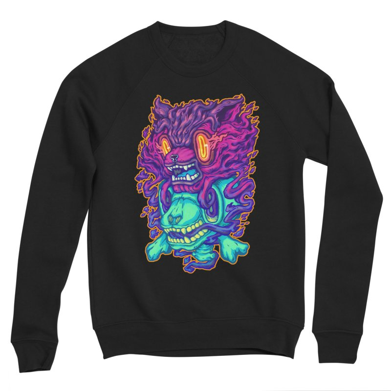 The Ghost cat Women's Sponge Fleece Sweatshirt by villainmazk's Artist Shop