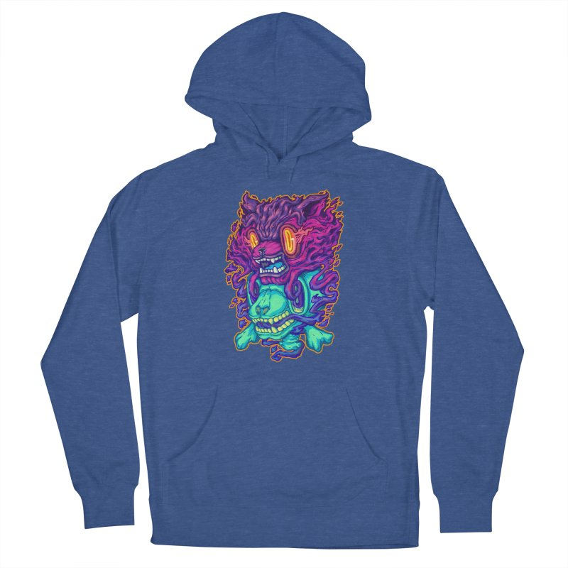 The Ghost cat Men's Pullover Hoody by villainmazk's Artist Shop