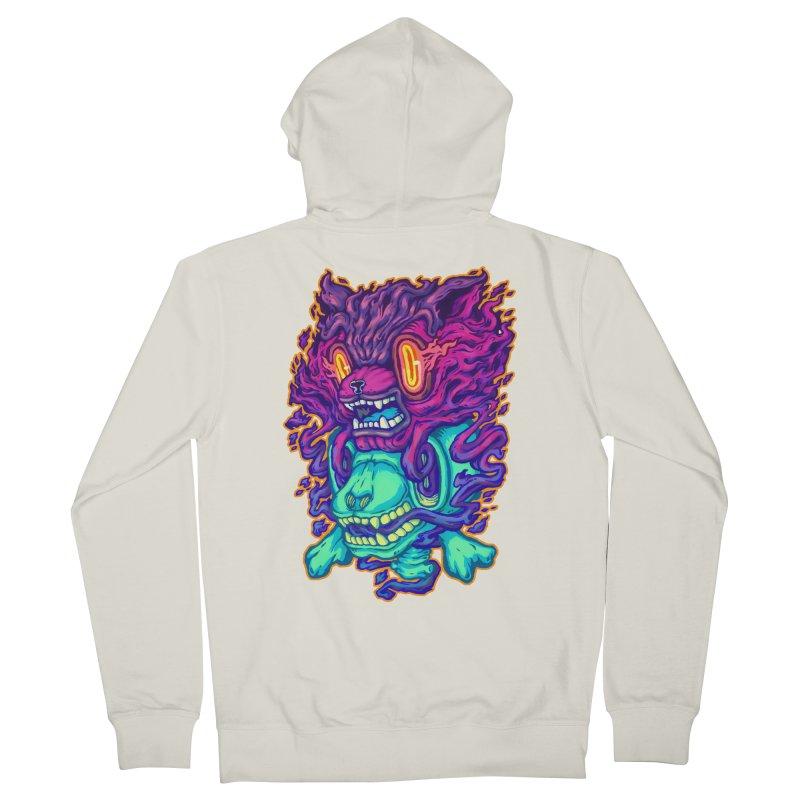 The Ghost cat Men's Zip-Up Hoody by villainmazk's Artist Shop