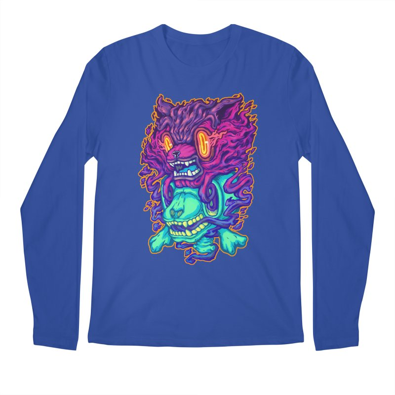 The Ghost cat Men's Longsleeve T-Shirt by villainmazk's Artist Shop