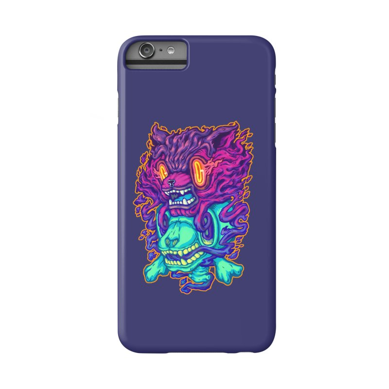 The Ghost cat Accessories Phone Case by villainmazk's Artist Shop