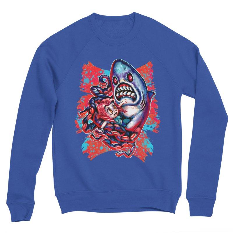 Sharktopus Attack! Women's Sweatshirt by villainmazk's Artist Shop