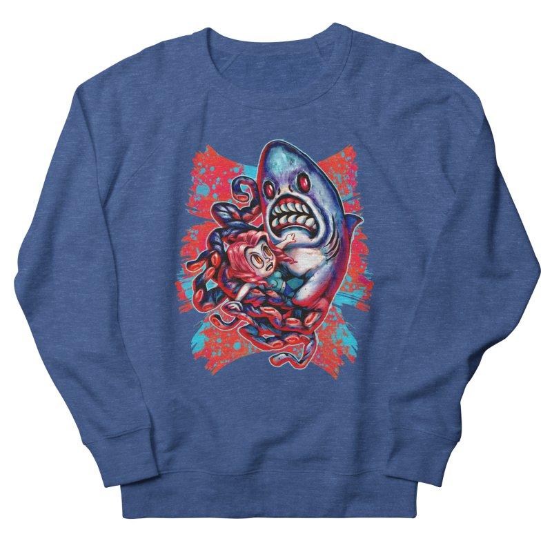 Sharktopus Attack! Men's Sweatshirt by villainmazk's Artist Shop