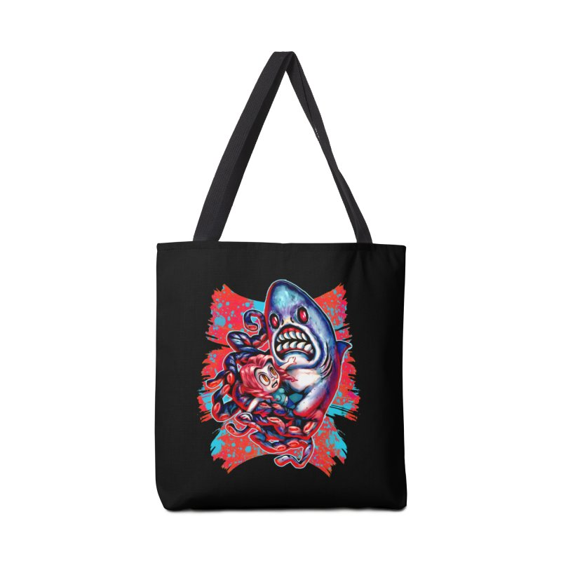 Sharktopus Attack! Accessories Tote Bag Bag by villainmazk's Artist Shop