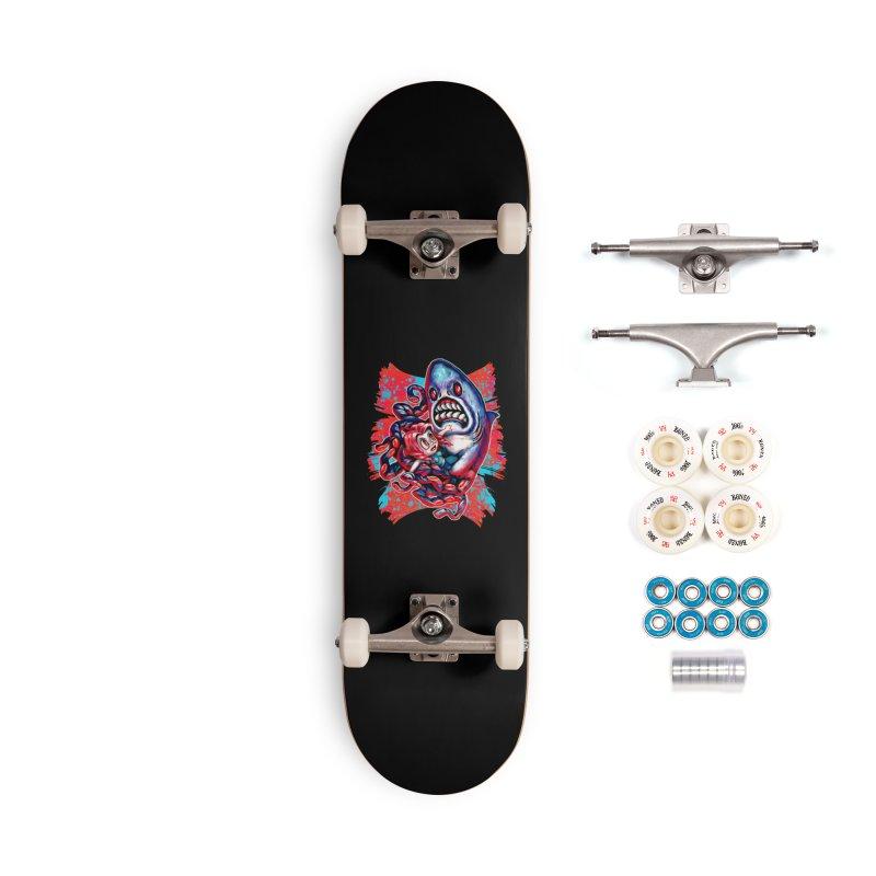 Sharktopus Attack! Accessories Complete - Premium Skateboard by villainmazk's Artist Shop