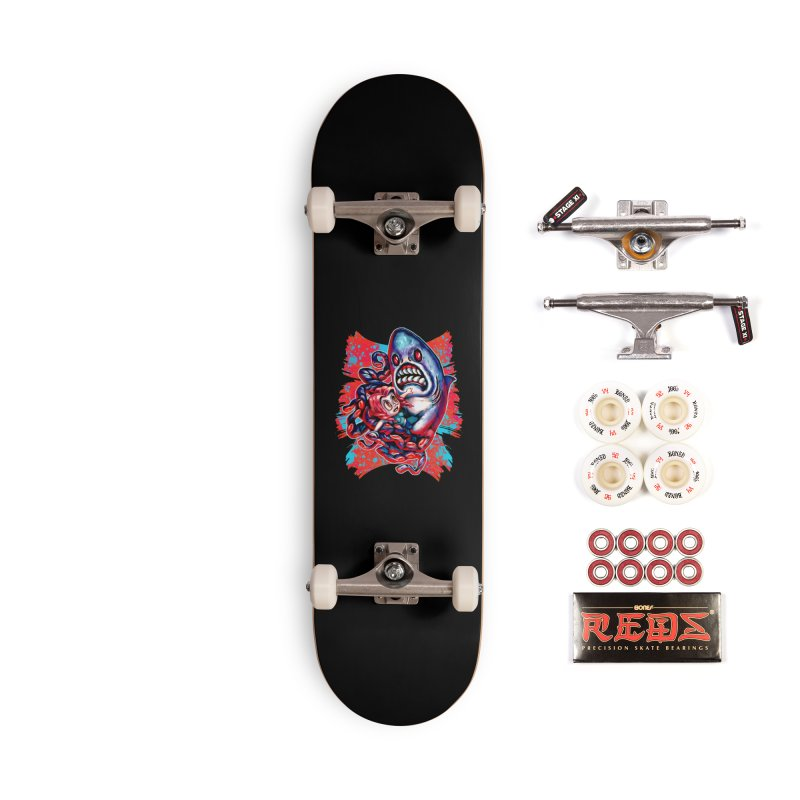 Sharktopus Attack! Accessories Complete - Pro Skateboard by villainmazk's Artist Shop