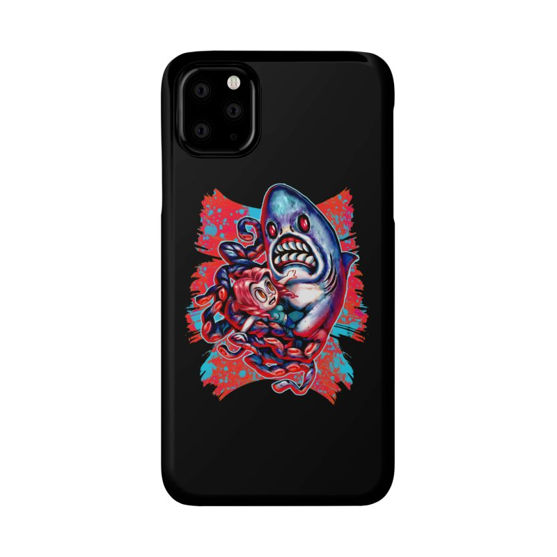 Sharktopus Attack! Accessories Phone Case by villainmazk's Artist Shop
