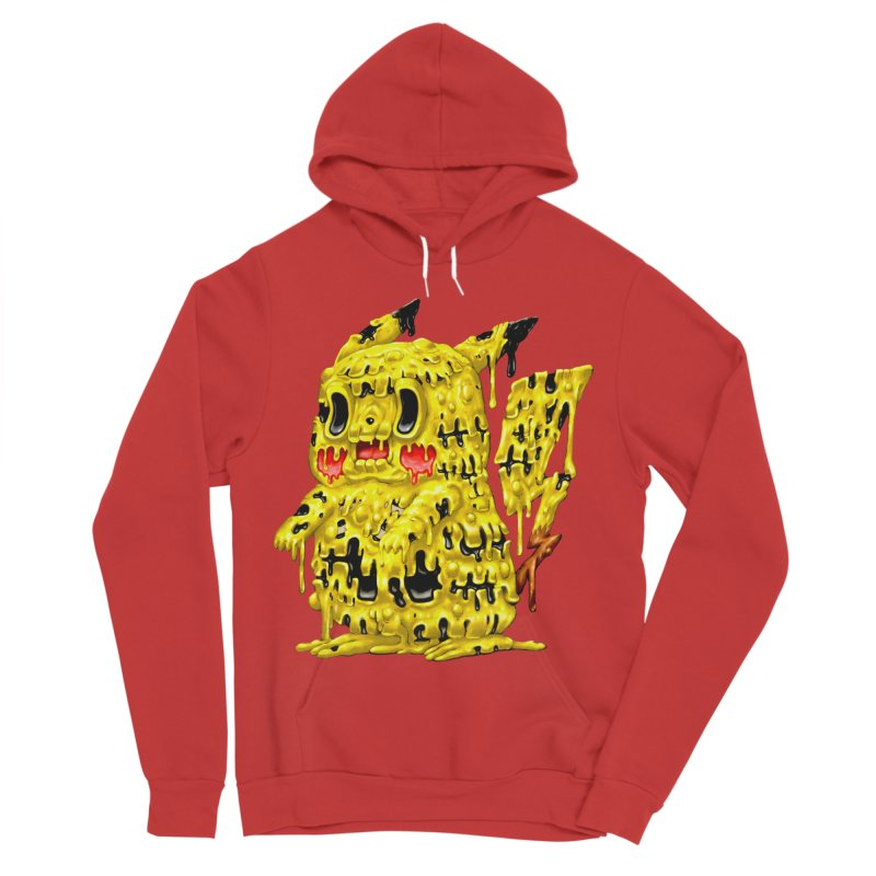 Melting Yellow Monster Women's Sponge Fleece Pullover Hoody by villainmazk's Artist Shop