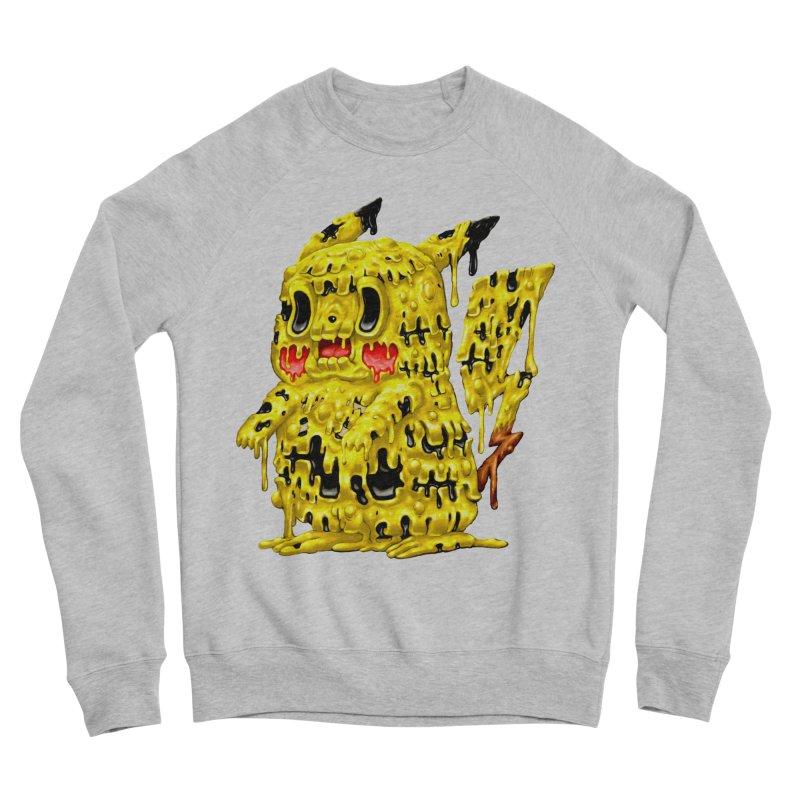 Melting Yellow Monster Women's Sponge Fleece Sweatshirt by villainmazk's Artist Shop
