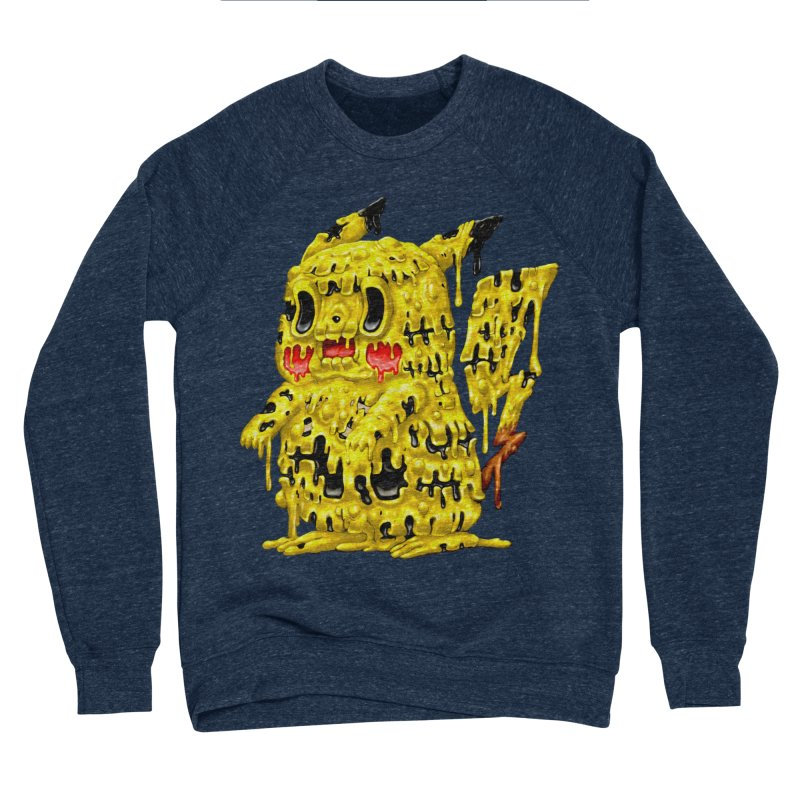 Melting Yellow Monster Women's Sponge Fleece Sweatshirt by villainmazk's Artist Shop