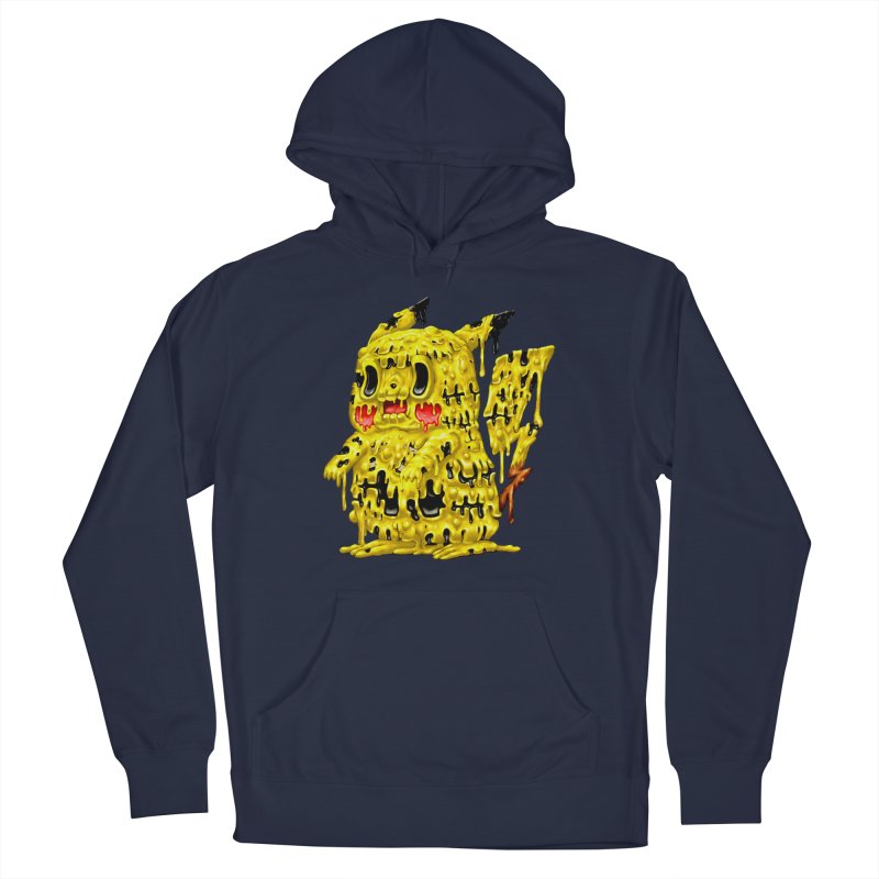Melting Yellow Monster Women's French Terry Pullover Hoody by villainmazk's Artist Shop
