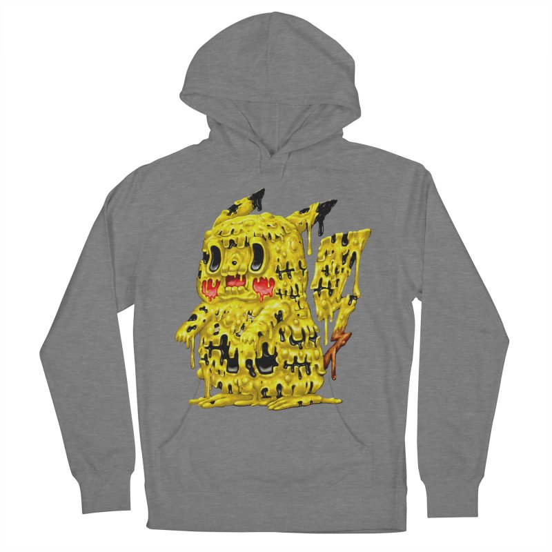 Melting Yellow Monster Women's Pullover Hoody by villainmazk's Artist Shop