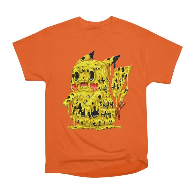 Melting Yellow Monster Men's T-Shirt by villainmazk's Artist Shop