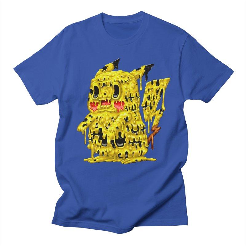 Melting Yellow Monster Women's Regular Unisex T-Shirt by villainmazk's Artist Shop