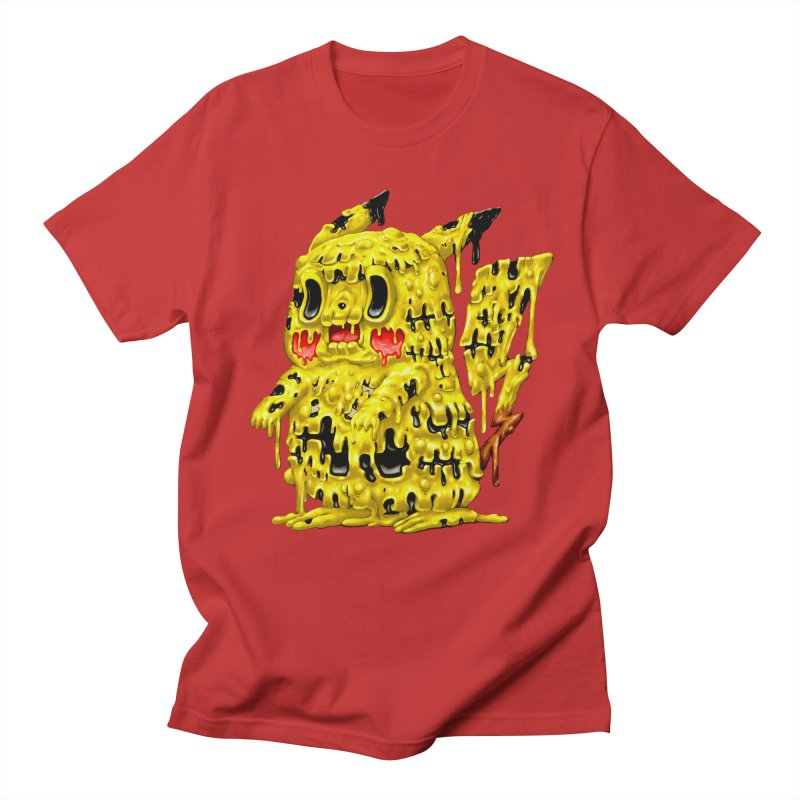 Melting Yellow Monster Women's Regular Unisex T-Shirt by villainmazk's Artist Shop