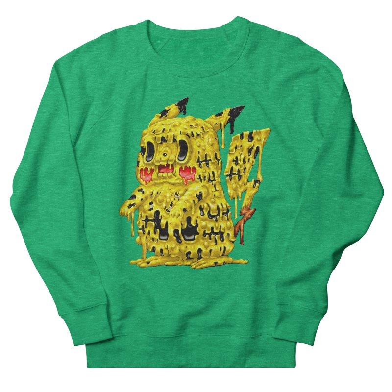 Melting Yellow Monster Women's Sweatshirt by villainmazk's Artist Shop
