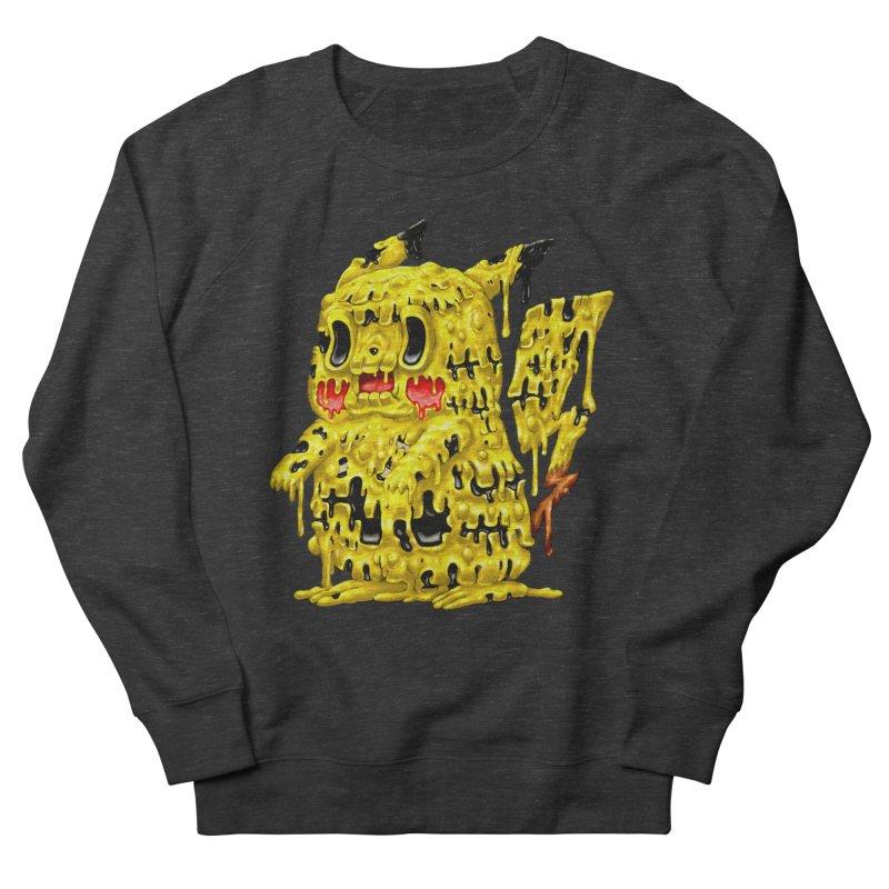 Melting Yellow Monster Women's French Terry Sweatshirt by villainmazk's Artist Shop