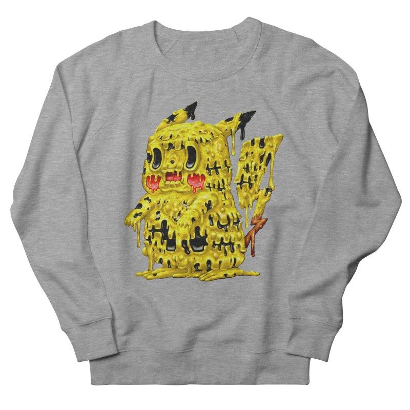Melting Yellow Monster Men's French Terry Sweatshirt by villainmazk's Artist Shop
