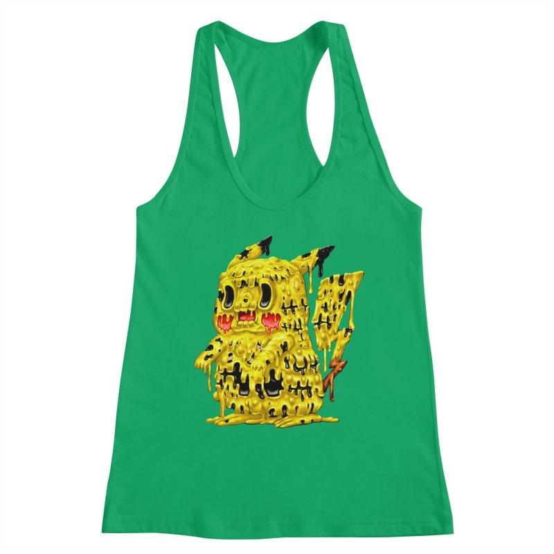 Melting Yellow Monster Women's Tank by villainmazk's Artist Shop
