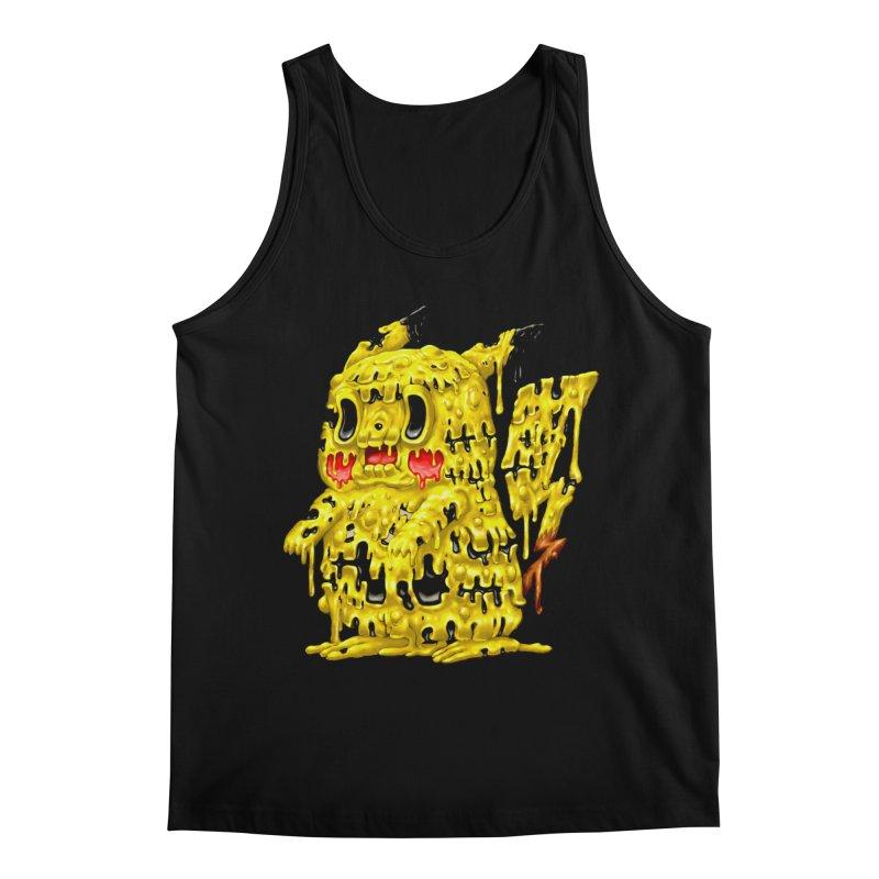 Melting Yellow Monster Men's Regular Tank by villainmazk's Artist Shop