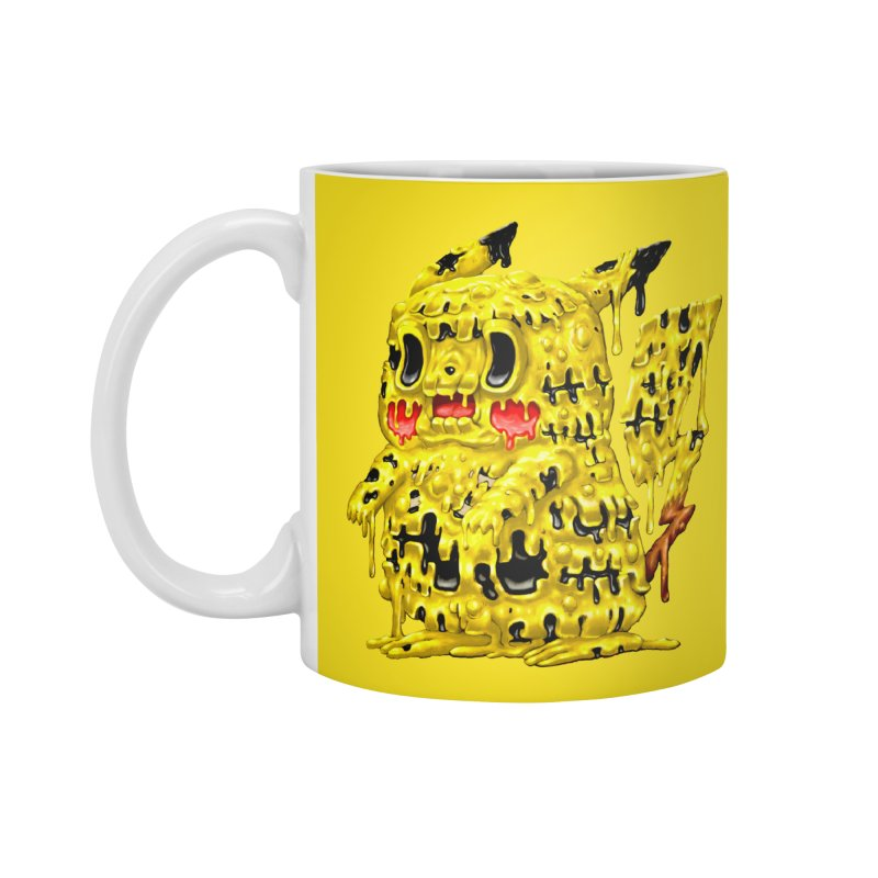 Melting Yellow Monster Accessories Standard Mug by villainmazk's Artist Shop