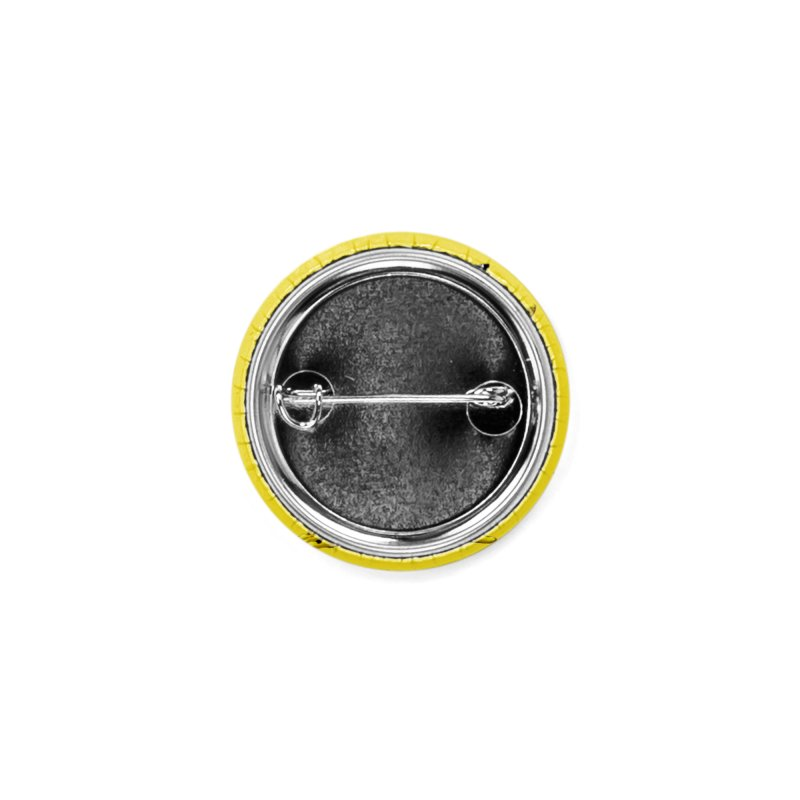 Melting Yellow Monster Accessories Button by villainmazk's Artist Shop