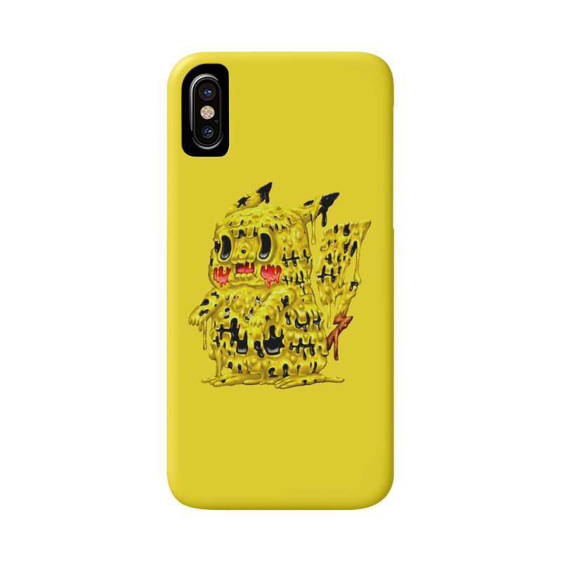 Melting Yellow Monster Accessories Phone Case by villainmazk's Artist Shop