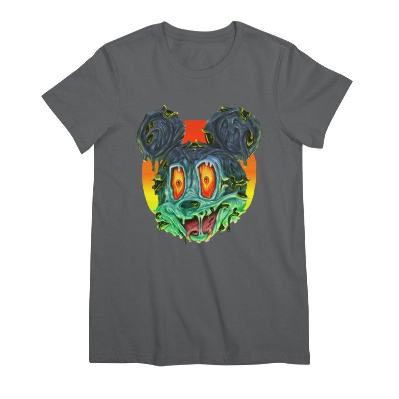 Horror Mouse Women's T-Shirt by villainmazk's Artist Shop