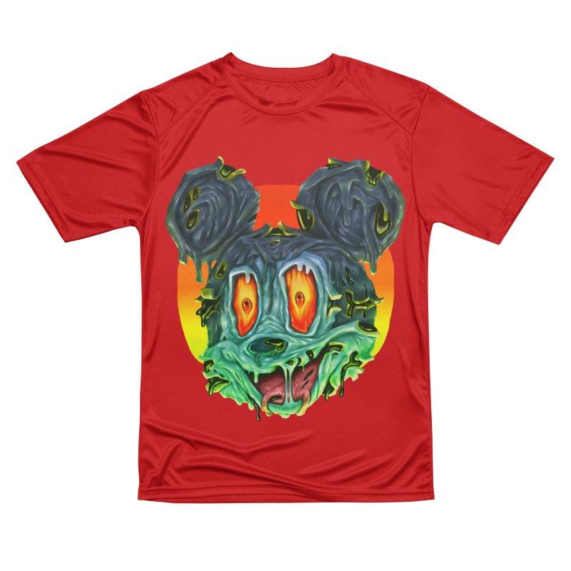 Horror Mouse Men's Performance T-Shirt by villainmazk's Artist Shop