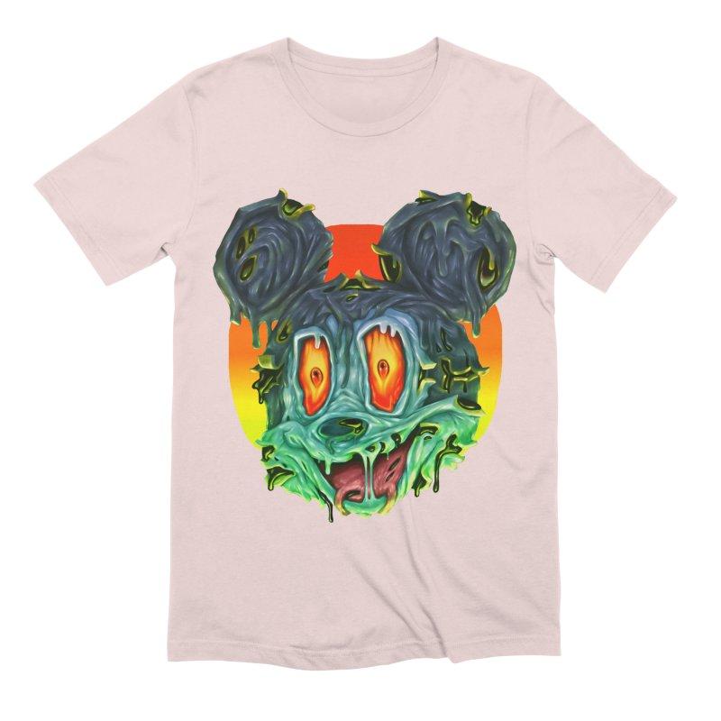 Horror Mouse Men's Extra Soft T-Shirt by villainmazk's Artist Shop