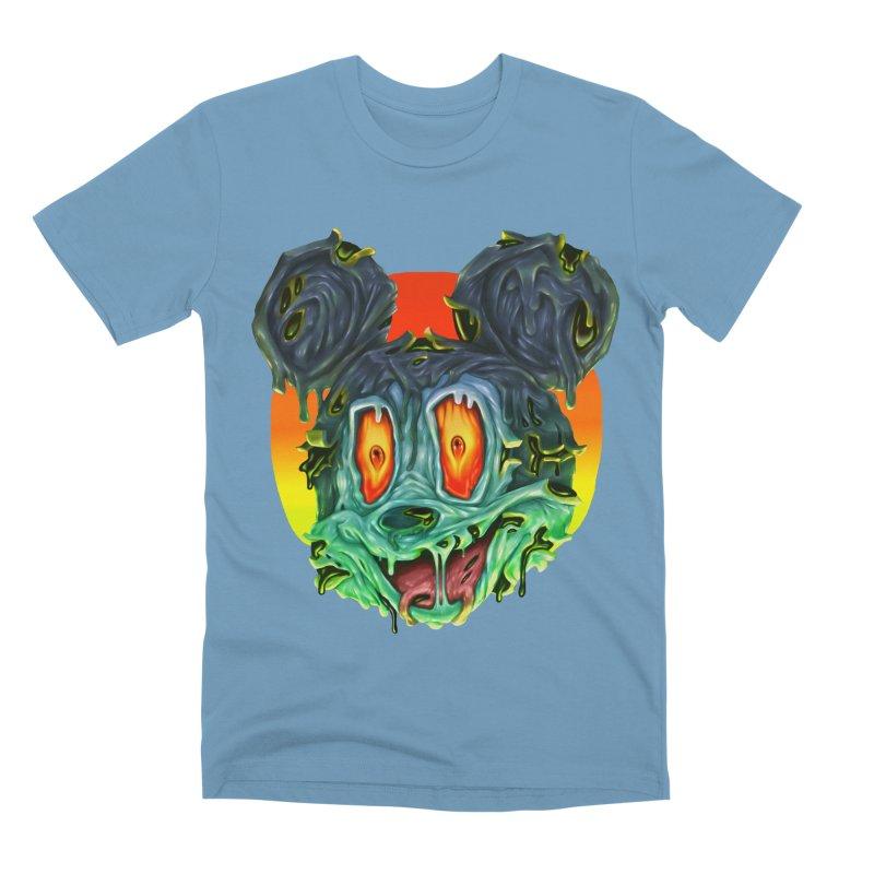Horror Mouse Men's Premium T-Shirt by villainmazk's Artist Shop