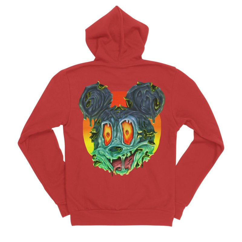 Horror Mouse Women's Zip-Up Hoody by villainmazk's Artist Shop