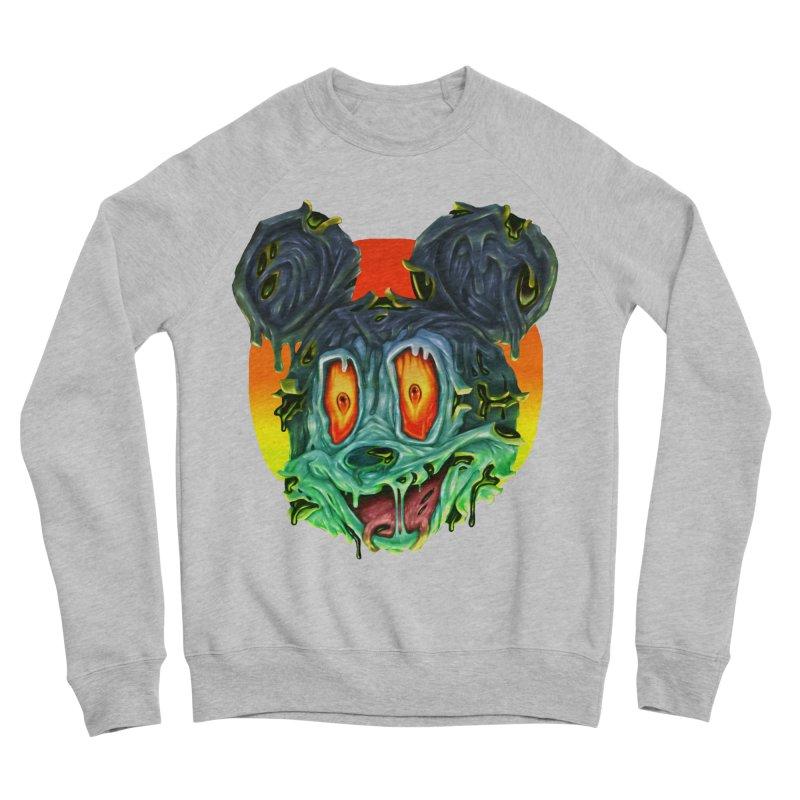Horror Mouse Men's Sponge Fleece Sweatshirt by villainmazk's Artist Shop