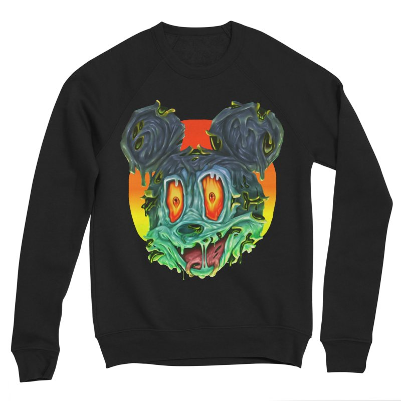 Horror Mouse Men's Sponge Fleece Sweatshirt by villainmazk's Artist Shop