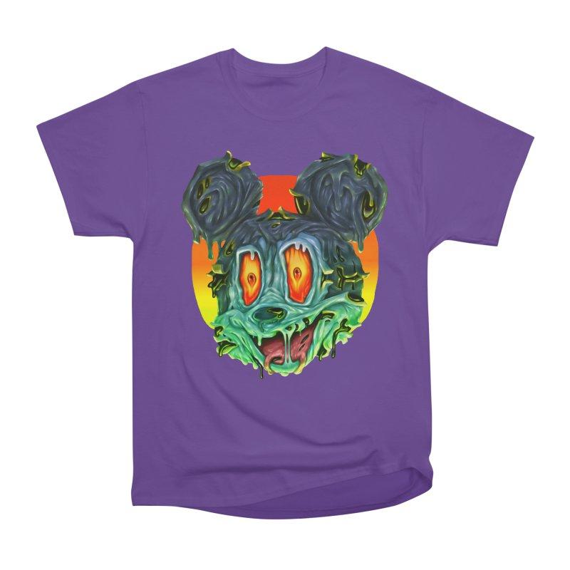 Horror Mouse Men's Heavyweight T-Shirt by villainmazk's Artist Shop