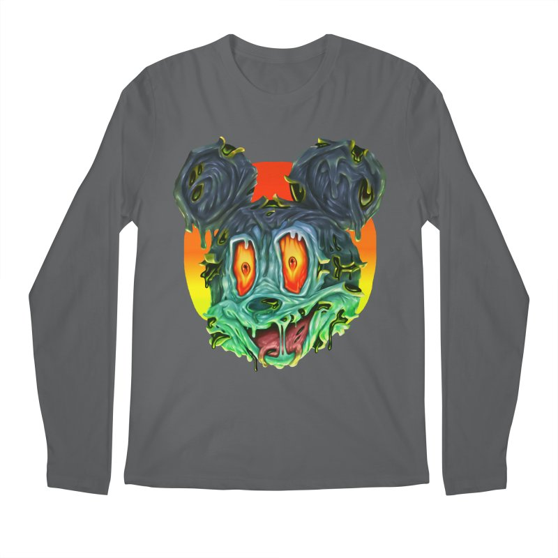Horror Mouse Men's Longsleeve T-Shirt by villainmazk's Artist Shop