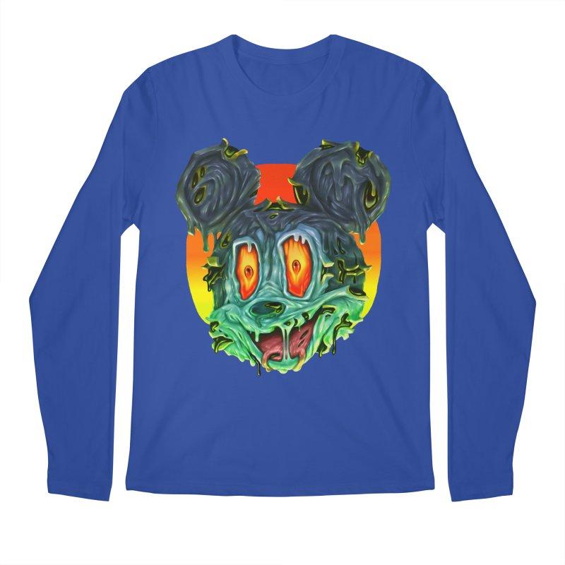 Horror Mouse Men's Regular Longsleeve T-Shirt by villainmazk's Artist Shop
